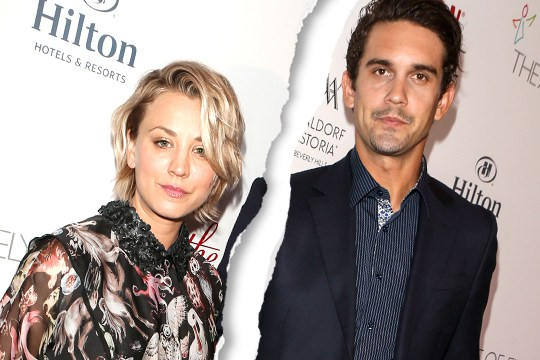 kaley cuoco-divorcing ryan sweeting